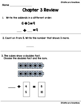 Go Math Chapter 3 Review Test
