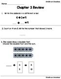 Go Math Chapter 3 Review Test: First Grade