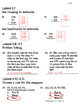Go Math! Chapter 3 Test/Review with Answer Key
