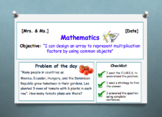 Go Math! Chapter 3 Understand Multiplication: Arrays