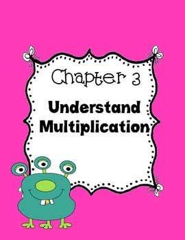 Go Math~ Chapter 3 Vocabulary Words 3rd grade