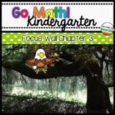 Go Math! Chapter 3 Kindergarten Focus Wall