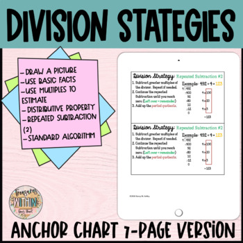 Go Math Chapter 4 Division Strategies (7-page version)