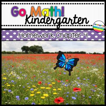 Go Math! Chapter 4 Kindergarten Homework