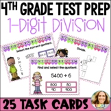 Go Math Chapter 4 Review Task Cards-4th Grade
