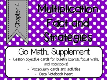 Go Math!  Chapter 4 Supplement