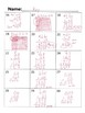 Go Math Chapter 4 Task Cards/Scoot/Review for Test