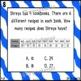 Go Math Chapter 4 Task Cards Grade 3
