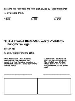Go Math! Chapter 4 Test - 4th Grade