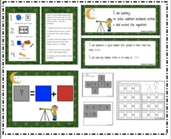 Go Math Chapter 5 Addition Stations