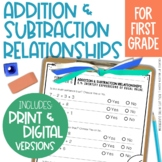 Go Math Chapter 5 Addition & Subtration Relationships