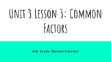Go Math Chapter 5: Factors, Multiples, and Patterns