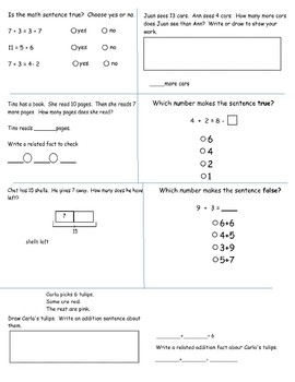 Go Math Chapter 5 Formative Assessment