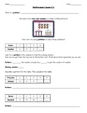 Go Math Chapter 5 Grade 3 Reinforcement/Reteach Work