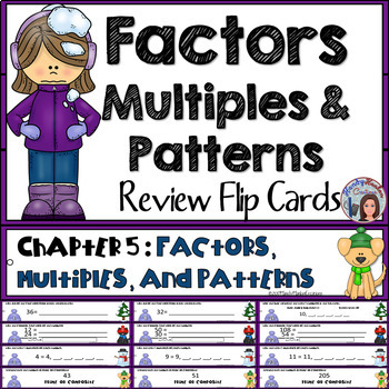 4th Grade Factors, Multiples, and Patterns Math Center