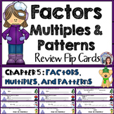 Go Math 4th Grade Factors, Multiples, and Patterns Math Center