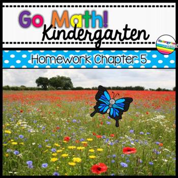 Go Math! Chapter 5 Kindergarten Homework