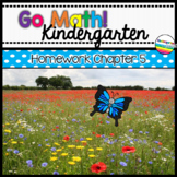Go Math! Chapter 5 Kindergarten Homework