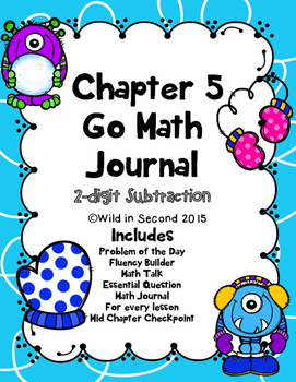 Go Math Chapter 5 Math Journal Second Grade