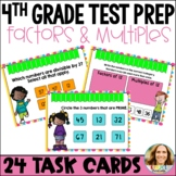 Go Math Chapter 5 Review Task Cards-4th Grade