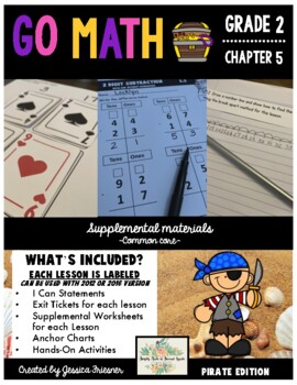 Go Math!  Chapter 5 Second Grade Supplemental Resources