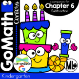 Go Math Centers, Chapter 6-Subtraction,Print & Distance Learning