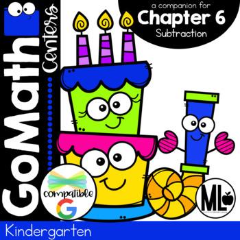 Kindergarten Math Centers, Subtraction- Chapter 6