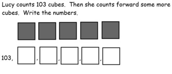 Go Math Chapter 6 (Count and Model Numbers) First Grade