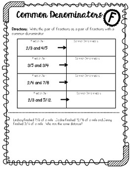 Go Math Chapter 6 Formatives/ Quick Checks