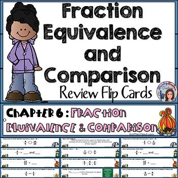 4th Grade Math Center Fraction Equivalence and Comparison