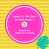 Go Math Grade 4 Chapter 6 Homework Google Sheets Answer Check