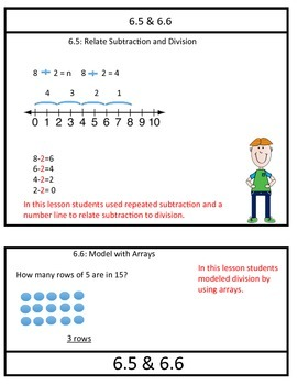 Go Math Chapter 6 Review Packet 3rd Grade By Simple As 1 2 3 Tpt