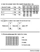 Go Math Chapter 6 Review Test: First Grade