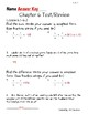 Go Math! Chapter 6 Test/Review with Answer Key
