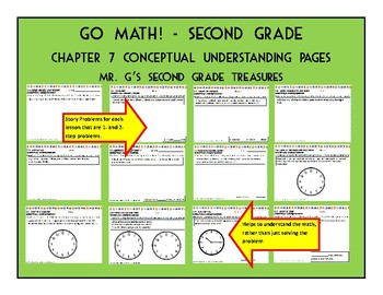 Go Math Chapter 7 2nd Grade Worksheets & Teaching Resources