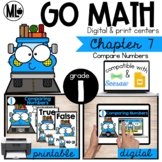 GoMath-First Grade Math Centers,Compare Numbers, Chapter 7