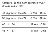 Go Math Chapter 7 (Compare Numbers) First Grade