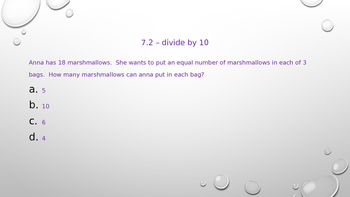 Go Math! Chapter 7 Division Facts and Strategies