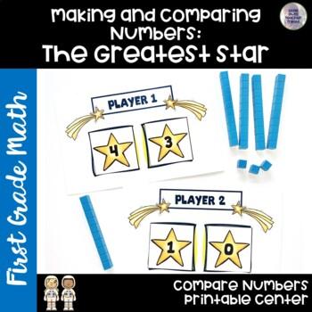 Go Math! First Grade Chapter 7 Center: The Greatest Star