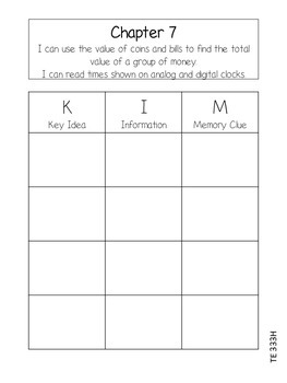 Go Math Chapter 7 Interactive Notebook