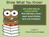 Go Math Chapter 7 Introduction Division Facts and Strategi