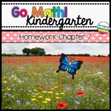 Go Math! Chapter 7 Kindergarten Homework