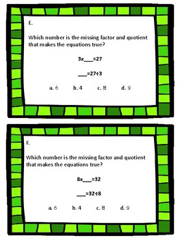 Go Math Chapter 7 Review SCOOT