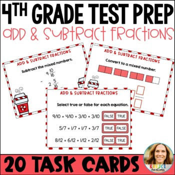 Go Math Chapter 7 Review Task Cards-4th Grade