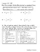 Go Math! Chapter 7 Test/Review with Answer Key