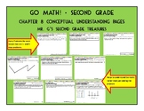 Go Math Chapter 8 2nd Grade Conceptual Math Pages