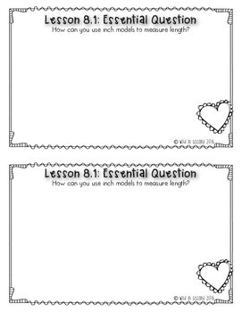 Go Math Chapter 8 Math Journal