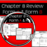 "Chapter 8 Review ""Go Math"" Form: B Included (Tens and Ones)"