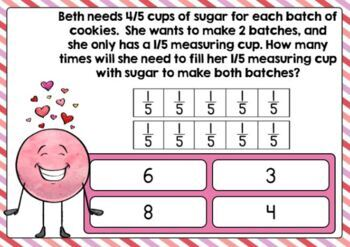 Go Math Chapter 8 Review Task Cards-4th Grade