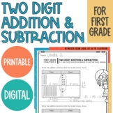 Go Math Chapter 8 Two Digit Addition and Subtraction, Distance Learning